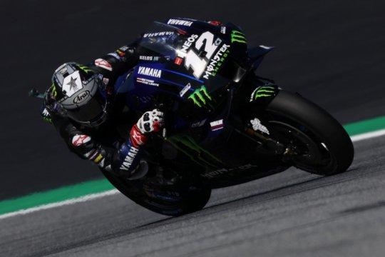 Maverick Vinales tampil tercepat pada sesi latihan pertama Grand Prix San Marino