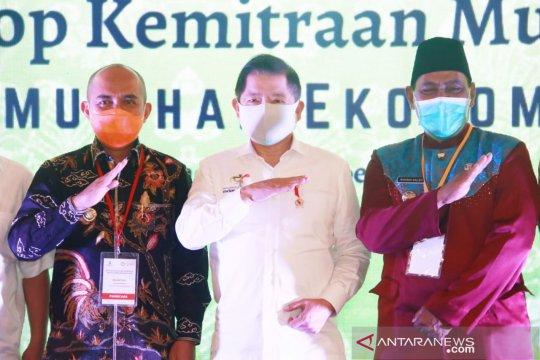 Bupati Belitung sampaikan usulan pembangunan pendukung pariwisata ke Menteri PPN