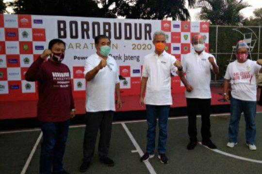 Borobudur Marathon 2020, Ganjar: Jateng akan terus berlari