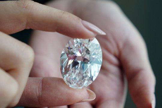 Berlian langka 102 karat akan dilelang, diperkirakan terjual Rp450 miliar