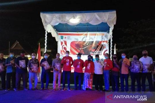 Bupati Belitung apresiasi relawan PMI bantu penanganan COVID-19