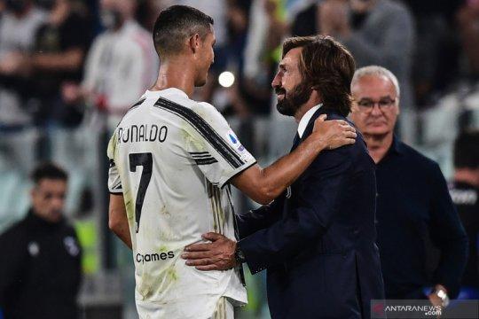 Juventus era Pirlo memulai musim dengan kemenangan 3-0 atas Sampdoria