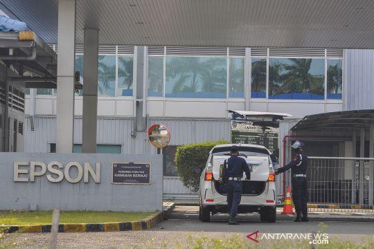 Sebanyak 369 karyawan EPSON terpapar COVID-19