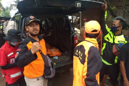 Korban terseret banjir bandang di Cicurug ditemukan