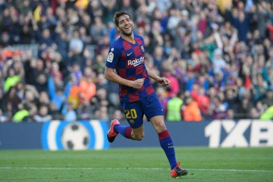 Sergi Roberto mengakui Barcelona masih merasa sakit dibantai Bayern Muenchen