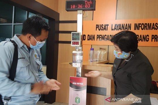IAGI serahkan alat pengukur suhu otomatis kepada Balitbang Kalbar
