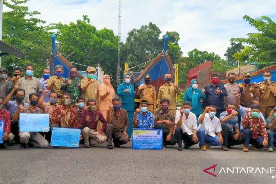 Pemkab Bangka salurkan premi asuransi bagi 882 jiwa nelayan