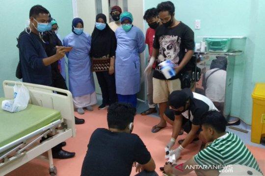 Polisi gagalkan penyelundupan sabu-sabu disembunyikan dalam perut penumpang maskapai