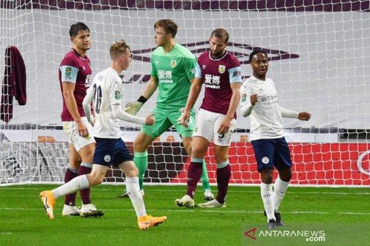 Kalahkan Burnley 3-0, City melenggang ke perempat final Liga Inggris