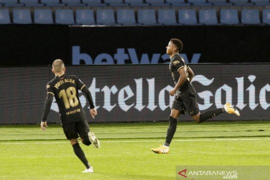 Ansu Fati  gemilang lagi saat Barcelona kalahkan Celta Vigo 3-0