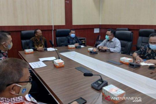 Dishub Babel audiensi dengan Komisi I DPRD Belitung