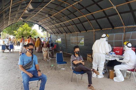 Seluruh ASN Bangka Tengah mengikuti rapid test masal