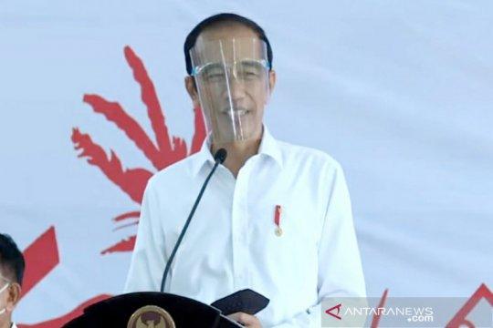 Presiden Jokowi: Vaksin COVID-19 gratis untuk rakyat urusan Menkes