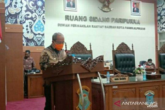 Pemkot Pangkalpinang sampaikan 14 Raperda kepada DPRD