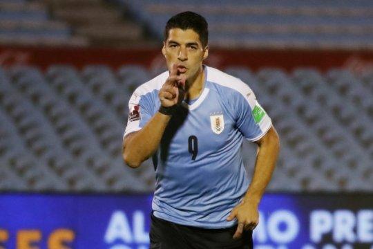 Luis Suarez ciptakan dua gol tetapi gagal hindarkan kekalahan 2-4 Uruguay dari Ekuador