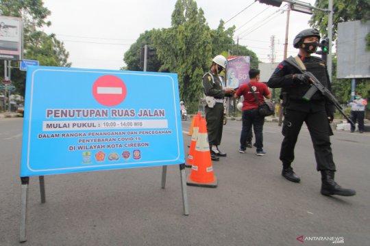 Penutupan jalan protokol Cirebon