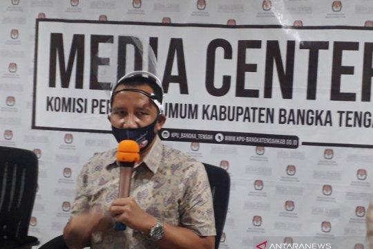 KPU Bangka Tengah tunggu penyampaian rekening kampanye calon pengganti