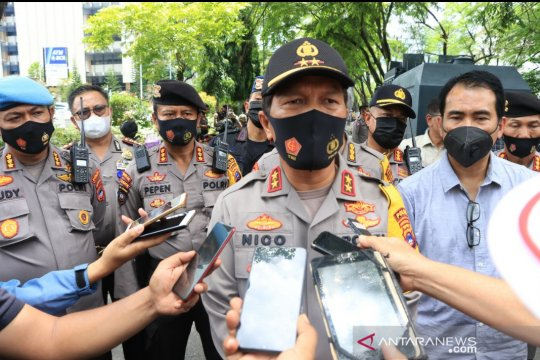 Kapolda : Tujuh pemuda mabuk menyusup di aksi demo mahasiswa