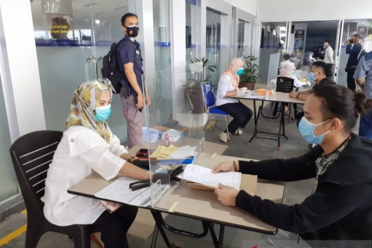 Tes usap  selesai dalam masa 4 jam untuk warga dari Singapura