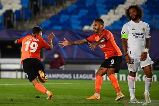 Liga Champions - Shakhtar taklukkan Real Madrid 3-2, gol pembuka dicetak Tete dorong Shakhtar tampil percaya diri