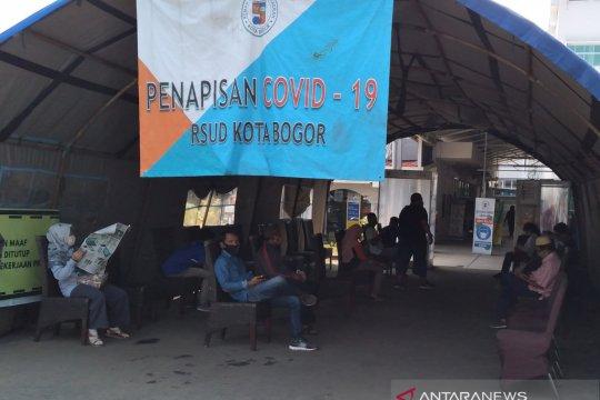 Kasus pasien COVID-19 sembuh di Kota Bogor turun jadi 80,04 persen