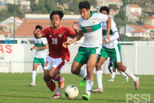 Lima gol tercipta dalam laga internal timnas U-19 Indonesia di Kroasia