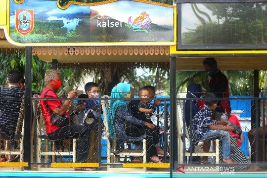 Rekreasi Keliling Kota Banjarmasin