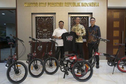 Moeldoko klarifikasi sepeda lipat bukan untuk Presiden Joko Widodo