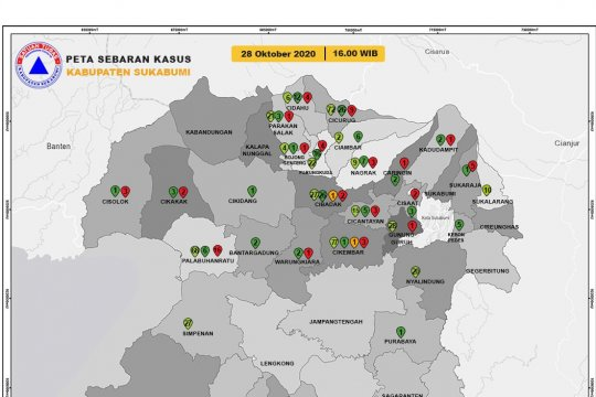 Pasien COVID-19 meninggal di Kabupaten Sukabumi bertambah lagi