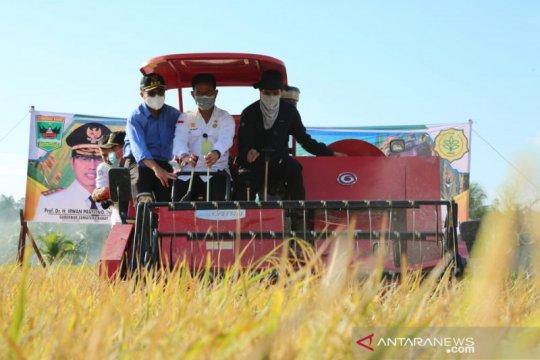 Stok beras capai 7 juta ton, Mentan Syahrul puji kinerja petani