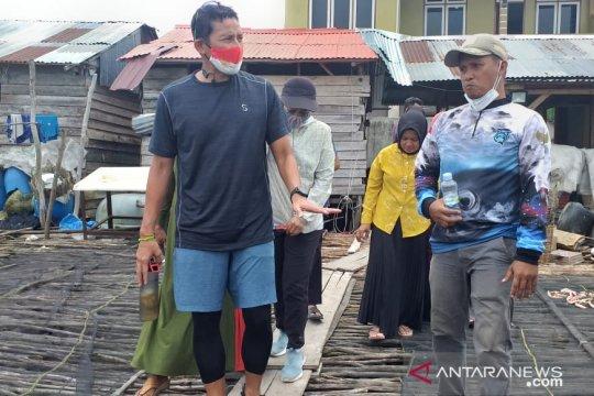 Sandiaga Uno kunjungi kampung nelayan Tanjung Binga Belitung