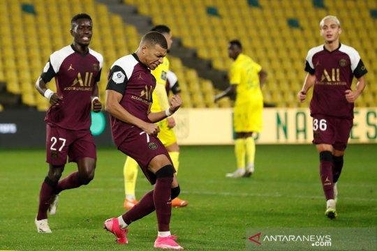 PSG melumat tuan rumah Nantes 3-0 meski tanpa Neymar