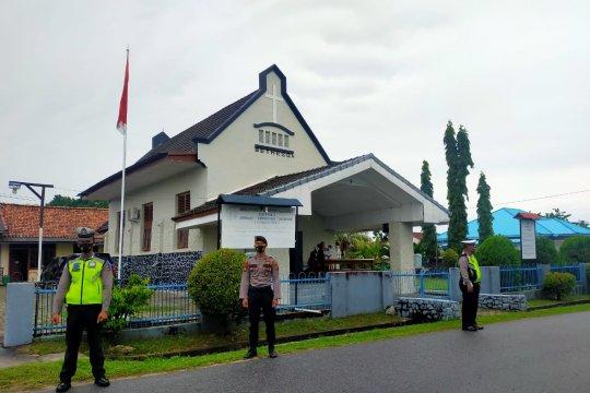 Polisi Bangka Barat pantau penerapan protokol kesehatan rumah ibadah