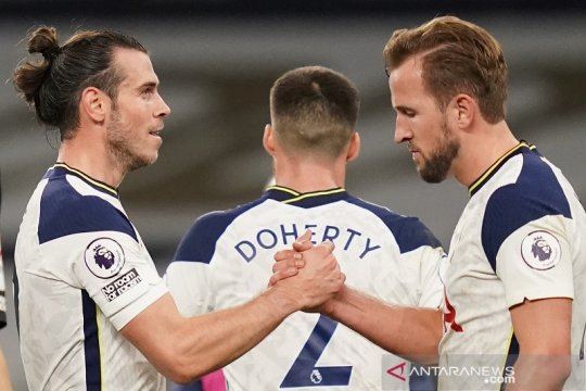 Gareth Bale bawa Tottenham Hotspur membekuk Brighton 2-1