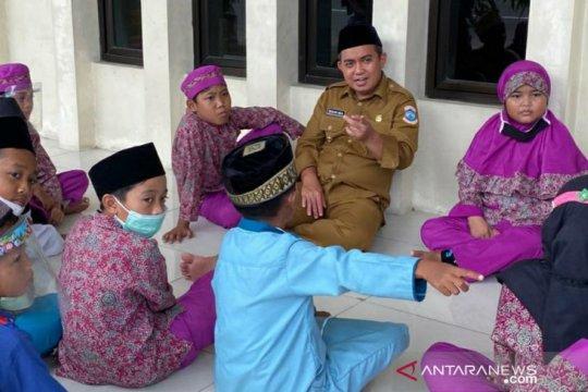 Walikota Pangkalpinang luangkan waktu santai bersama anak-anak TPA Masjid Permuthi