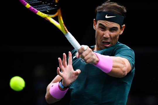 Nadal klaim kemenangan ke-1.000 setelah tundukkan Lopez