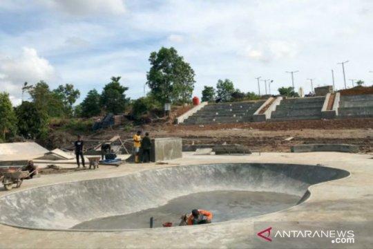 Pemkot Pangkalpinang bangun skate park di Tampuk Pinang Pura
