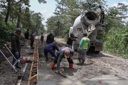 Sleman belum programkan perbaikan jalur evakuasi Merapi dalam waktu dekat