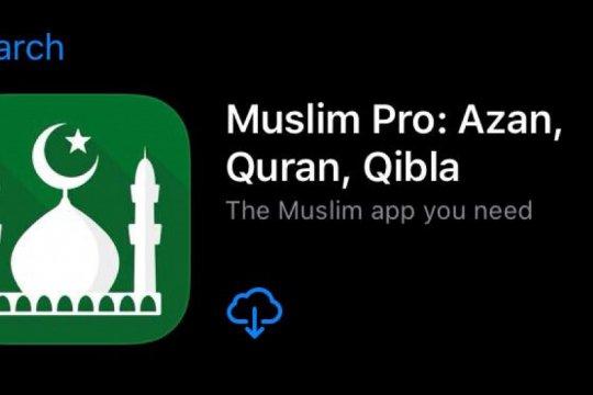 Aplikasi Muslim Pro bantah jual data ke militer AS