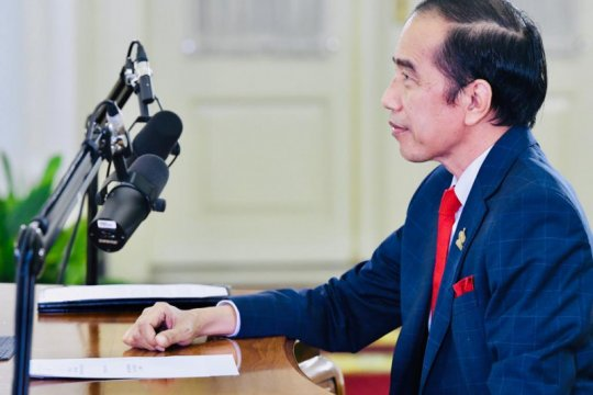 President Jokowi attends virtual APEC Summit 2020