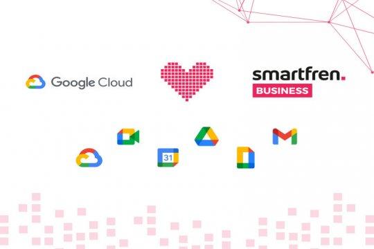Smartfren Business umumkan kemitraan dengan Google Cloud