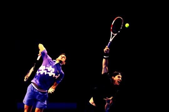 Thiem tantang Djokovic di semifinal ATP Finals