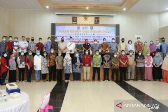 UBB gelar FGD Kurikulum Merdeka Belajar Kampus Merdeka di Belitung