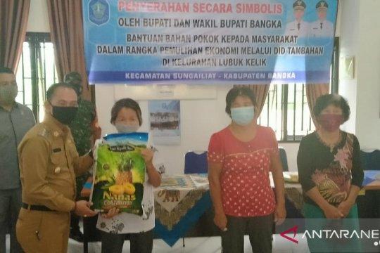 Pemkab Bangka salurkan bantuan 2.607 paket bahan pokok