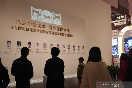 Ada Indonesia di Museum Anti COVID di Wuhan