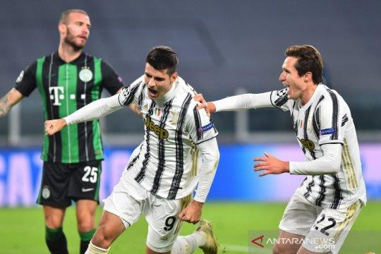 Gol injury time  Morata membuat Juventus menyusul Barcelona ke babak gugur