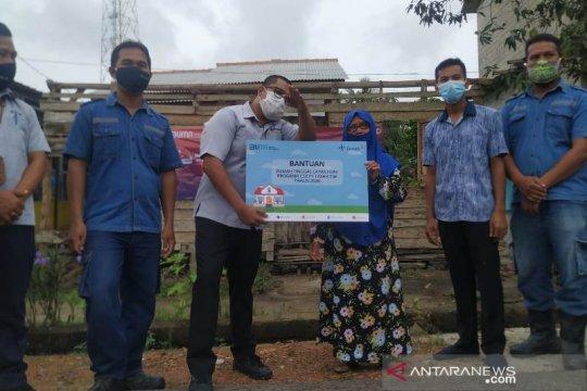 PT Timah serahkan rumah layak huni bantu janda miskin Bangka Kota