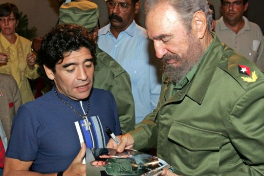 Maradona juga dikenang sebagai pejuang kaum tertindas
