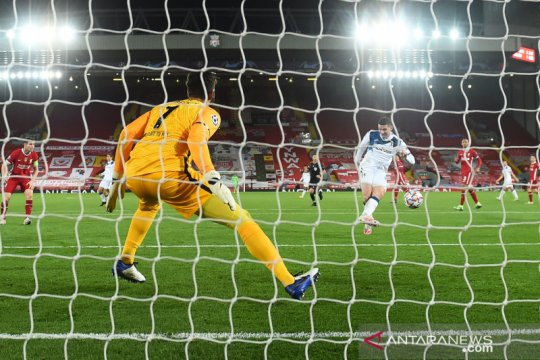 Liverpool dipecundangi Atalanta di Stadion Anfield