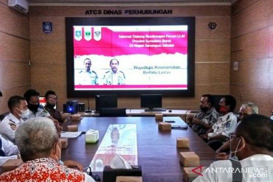 Dishub Babel terima kunjungan kerja FLLAJ Sumatera Barat